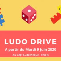 Ludo drive ludotheque thiais juin 2020